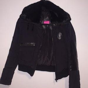 Vintage Mackage Down Jacket w/ Fur & Leather trims